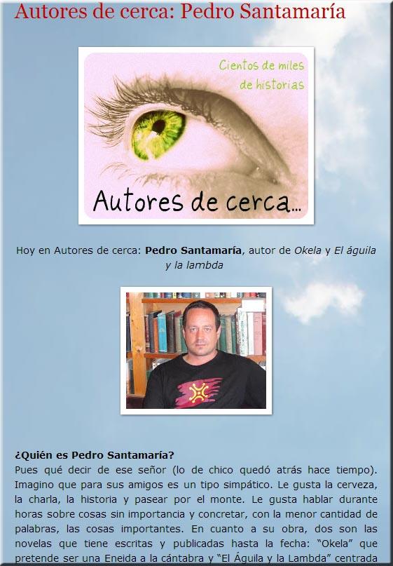 entrevista a Pedro Santamaría